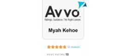 Myah Kehoe Avvo Rating 10
